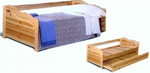 Кровать Дейбед-10 массив сосны купить в Москве